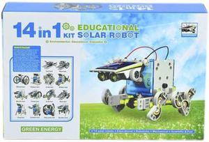 Robot Solar Kit 14 En 1