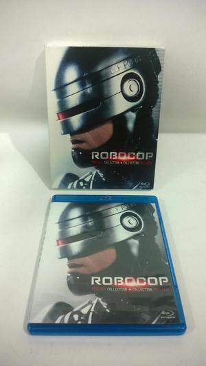 BLUE RAY ORIGINALES ROBOCOP 1, 2, Y 3 EDICION ESPECIAL