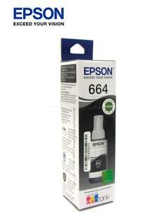 Botella De Tinta Epson T, Color Negro, Contenido 70ml,