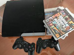 PlayStation3 2 mandos 12 juegos 2 mandos move