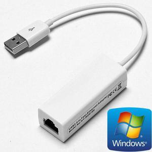 ADAPTADOR USB A LAN RJ45 Ethernet Buena Calidad