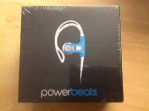 Audifonos Beats, Powerbeats By Dr. Dre Neon Blue Originales