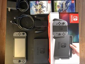 Consola Nintendo Switch 32GB gris disponible