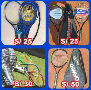 Raquetas De Tenis. Delivery Gratis.