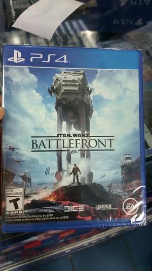Star Wars Battlefront Ps4 Nuevo Sellado