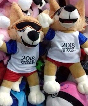 Zabivaka Mascota Del Mundial Rusia  Muñeco Peluche