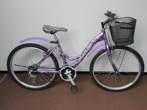 Bicicleta Montañera Mujer Casi Nueva Ok