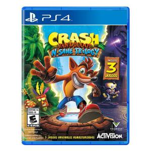 Crash Bandicoota PS4 NUEVO sellado