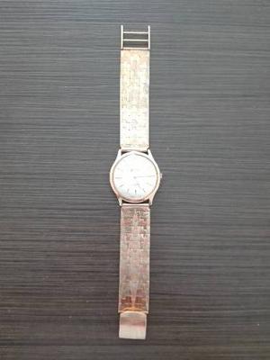 Vendo Reloj Suizo Sandoz De Oro De 18k Para Caballero