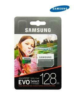 Memoria Samsung Microsdxc Evo, 128gb, Uhs-i, Grado 3, Clase