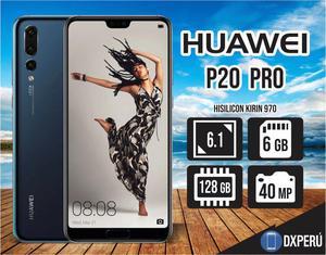 Nuevo Huawei P20 Pro 128Gb 6Gb RAM 40 Mp, 20 Mp/envios por