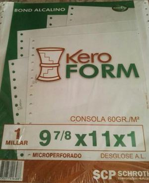 Papel Continuo Posot Class