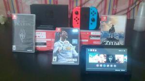 Vendo Nintendo Switch Mas 10 Juegos
