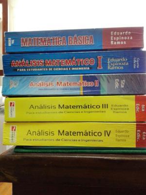 Analisis Matematico 14 Espinoza Mb