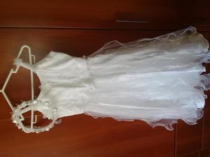 En venta vestido blanco