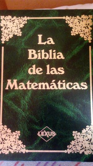 La Biblia de Las Matematicas Lexus