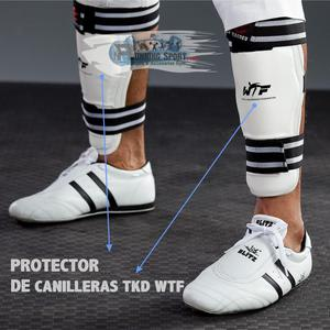 Protector de Canilleras Importado Taekwondo TKD WTF RUNNING