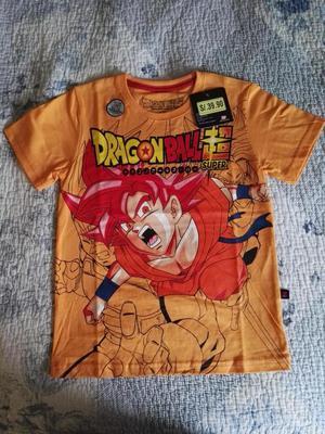 Se vende Polo para niño Sublimado de Dragon Ball, nuevo,