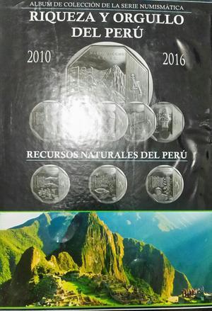 Álbum de Colección para Monedas Peruanas