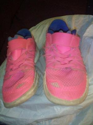 zapatillas de niña marca Nike talla 32 usadas o cambio