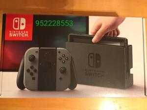 Nintendo Switch Con Caja Y Accesorios