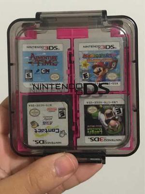 Estuche Para Videojuegos De Nintendo 3ds Y Ds (rosado)