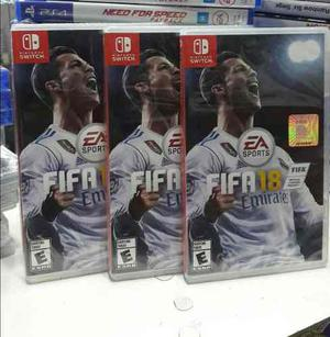 Fifa 18 Nintendo Switch Nuevo Y Sellado Stock
