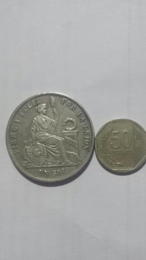 Moneda Coleccion de Plata