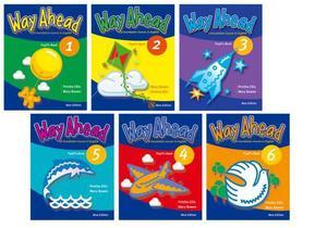 Way Ahead libros 1al 6 en PDF incluye los audios de cada