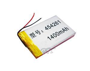 Batería recargable de Lipolímero 3.7 V  mAh