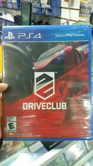Driveclub Ps4 Nuevo Sellado Stock