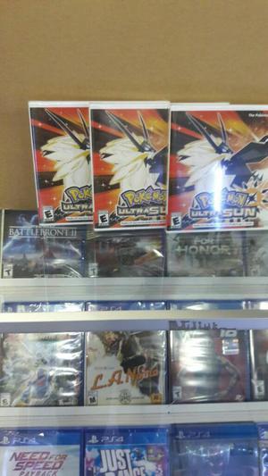 Pokémon Ultra Sun Nintendo 3ds Nuevo Sellado
