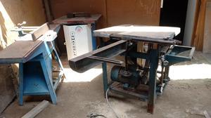 Vendo 3 Maquinas de Carpinteria