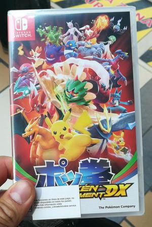 Pokemon Tournament Dx Nintendo Switch Nuevo Posot Class