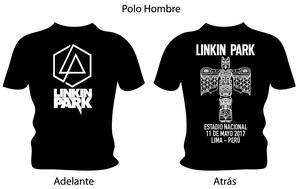 Polos Linkin Park En Lima, Tour  Para Hombre y Mujer