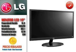 Monitor Led Lg 19 Pulgadas x768 Con Garantia