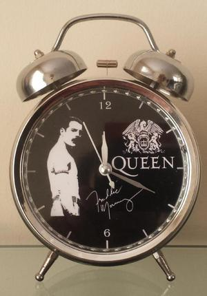 Queen Reloj Despertador Estilo Vintage Queen Freddie Mercury