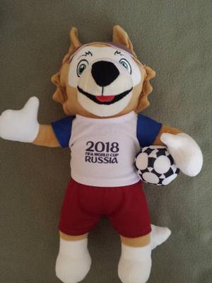 Peluche Zavibaka Rusia  Mascota Del Mundial Muñeco