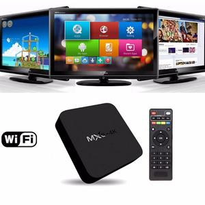 TV BOX CONVIERTE TU TV A UN SMART TV, Disfruta de Netflix,