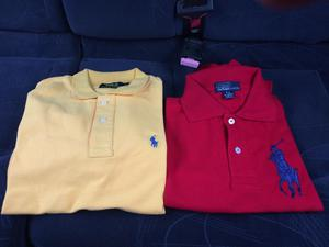 Polo Ralph Lauren Tallas S M L Xl Colores Rojo, Amarillo