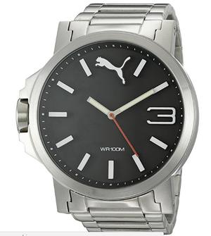 Reloj Puma Mod PU de metal fondo negro 100 Original