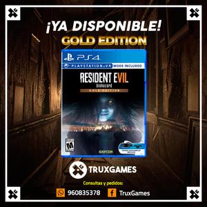 Resident Evil 7 Biohazard Gold Edition