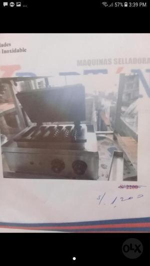 Maquina de Yoguis Electrica
