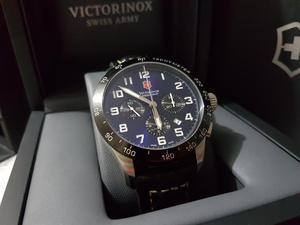Reloj Victorinox Swiss Army Airboss Mach 6 Chrono Automatico