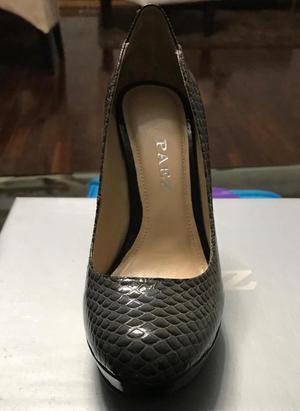 Zapatos de Cuero Paez Talla 38 Nuevos