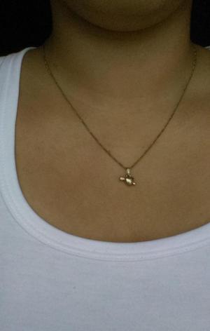 Collar Corazón de Oro 14 Kilates