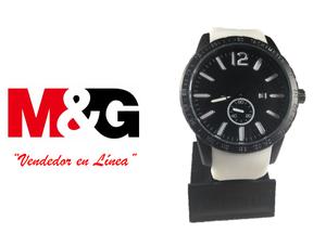 Reloj blanco para caballero