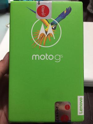 Moto G5 de 32Gb Sellado Color Gris
