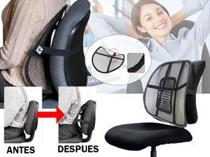 Original espalda lumbar espuma silla posot class for Cojin lumbar silla oficina