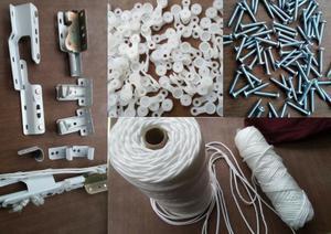 Rieles para cortina Venta, instalación, reparación y